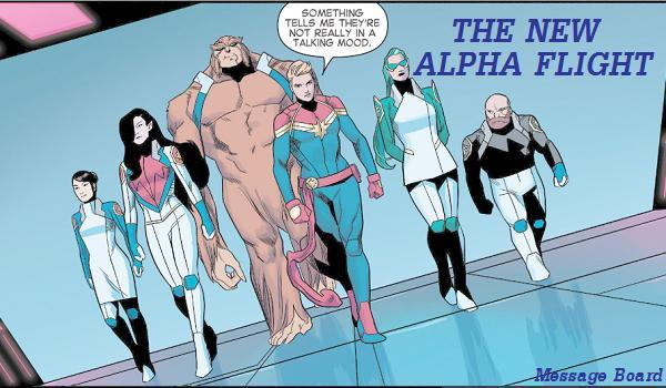 Alpha Flight Message Board