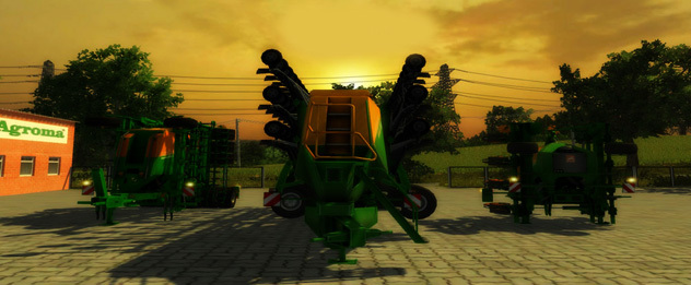 Amazone Sowing Pack v 2.0 Soil Mod Edition MR