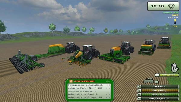 Amazone Sowing Pack v1.01 MR