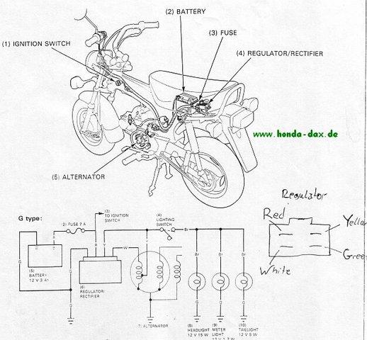 Fantastisch Honda 50 Schaltplan Ideen - Der Schaltplan - greigo.com