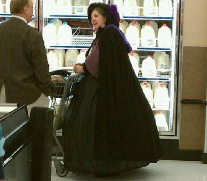 Najdziwniejsi klienci z WalMart #5 38