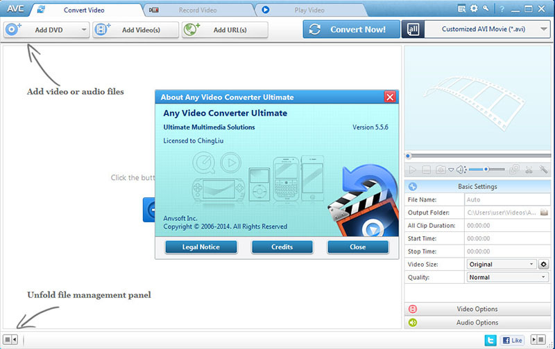 anyvidconv556iysfp  Any Video Converter Ultimate 5.5.6