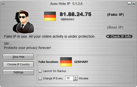 Auto Hide IP 5.6.0.8