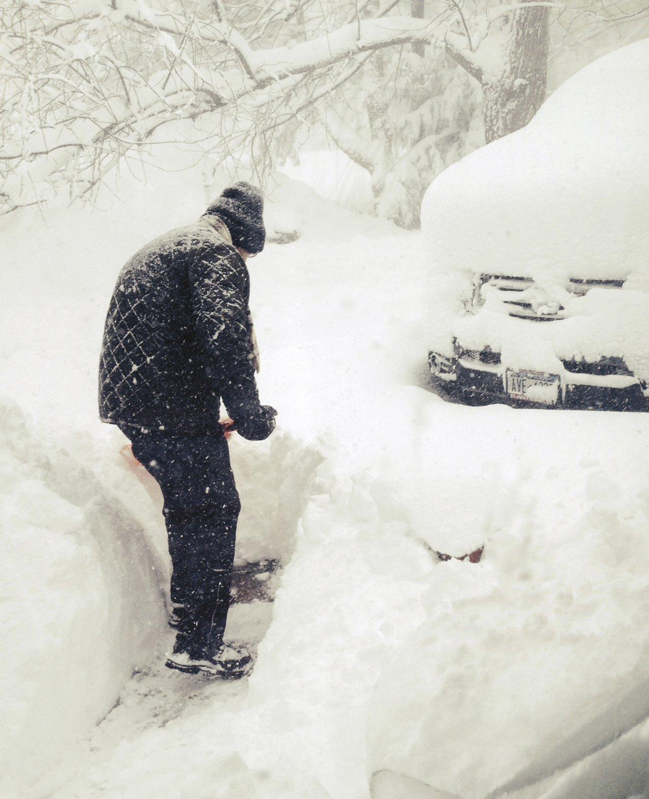 Śnieżyce w USA 26