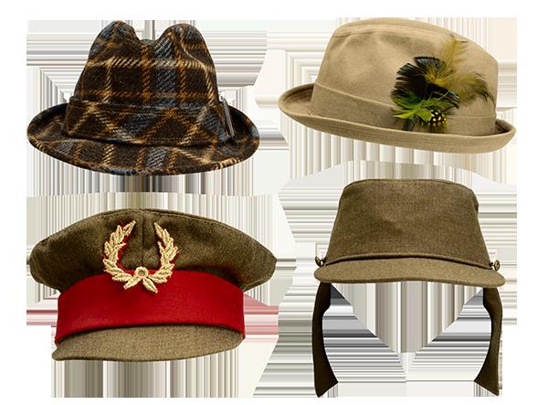 Шляпки разные 120