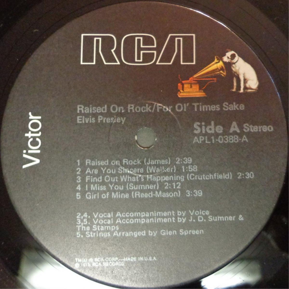 RAISED ON ROCK / FOR OL' TIMES SAKE Apl1-0388ca2sga