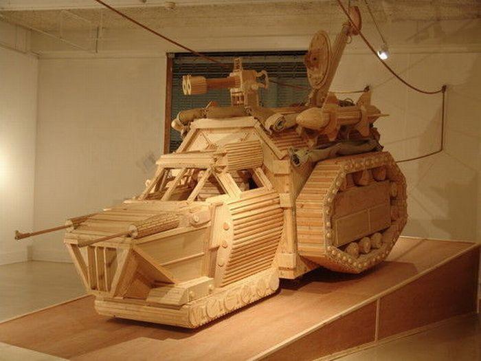 Rzeźby w drewnie 46