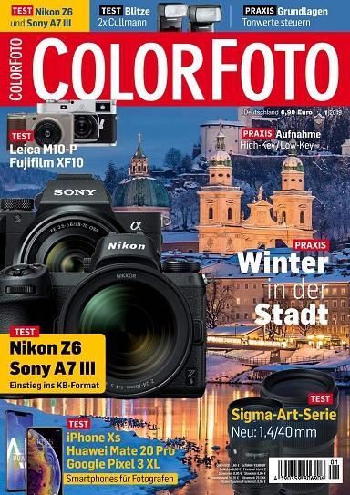 Colorfoto Magazin Januar No 01 2019