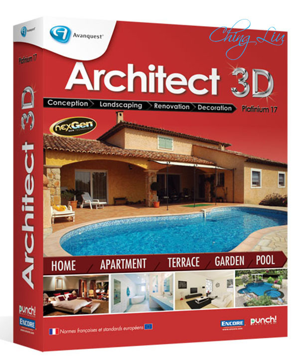Architect 3d platinum 17 5 torrent download for Architecte 3d v18