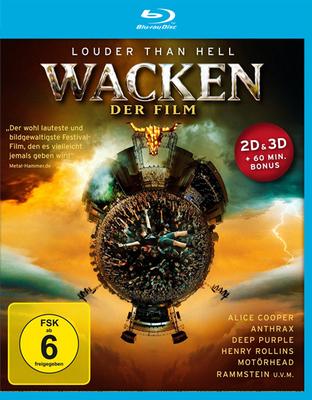 Wacken - Louder Than Hell - Der Film (2014) 3D/2D Blu-rayc