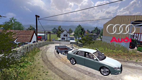 Audi A4 Quattro towbar v 1.1