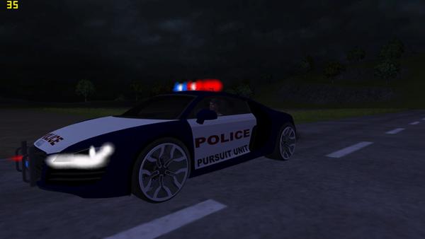 Audi R8 Police car v 1.0