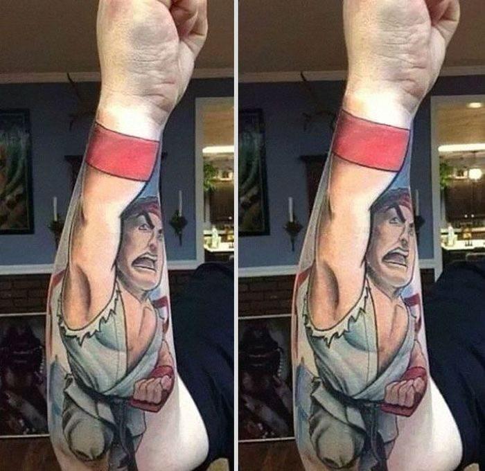 Tatuaże dla zabawy 17