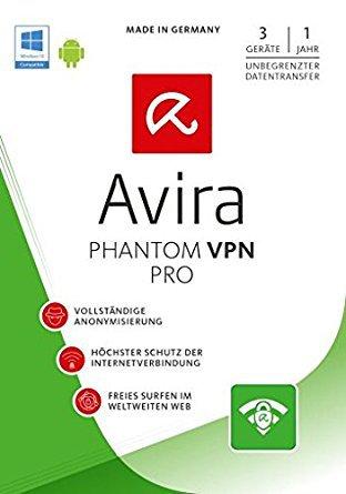 Avira Phantom VPN-Pro 2.2.3.19655