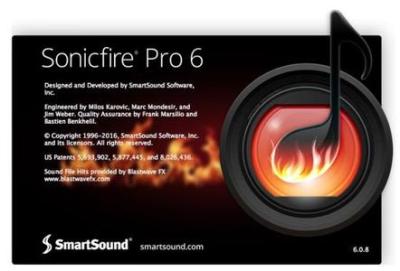 SmartSound SonicFire Pro v6.1.0.0