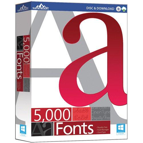Summitsoft 5000 Fonts v1.0.0