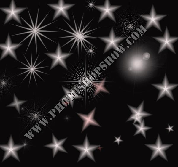 photoshop yıldız fırçaları