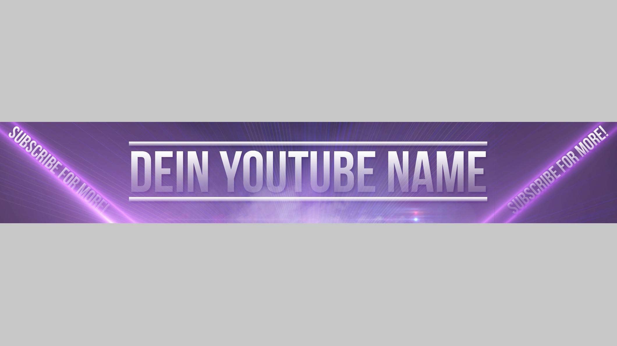 Gewinnspiel] YouTube Banner - Events und Wettbewerbe - breadfish.de ...