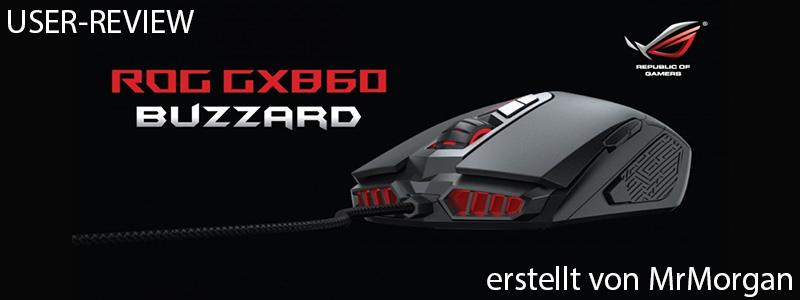 banneru4o8j - Asus ROG GX860 Buzzard - Raubvogelmaus oder LED-Brathähnchen