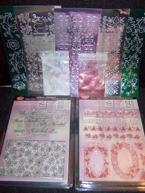 Bastelset weihnachten 3 varianten stempel schablone b gelvorlagen sticker ebay - Bastelset weihnachten ...