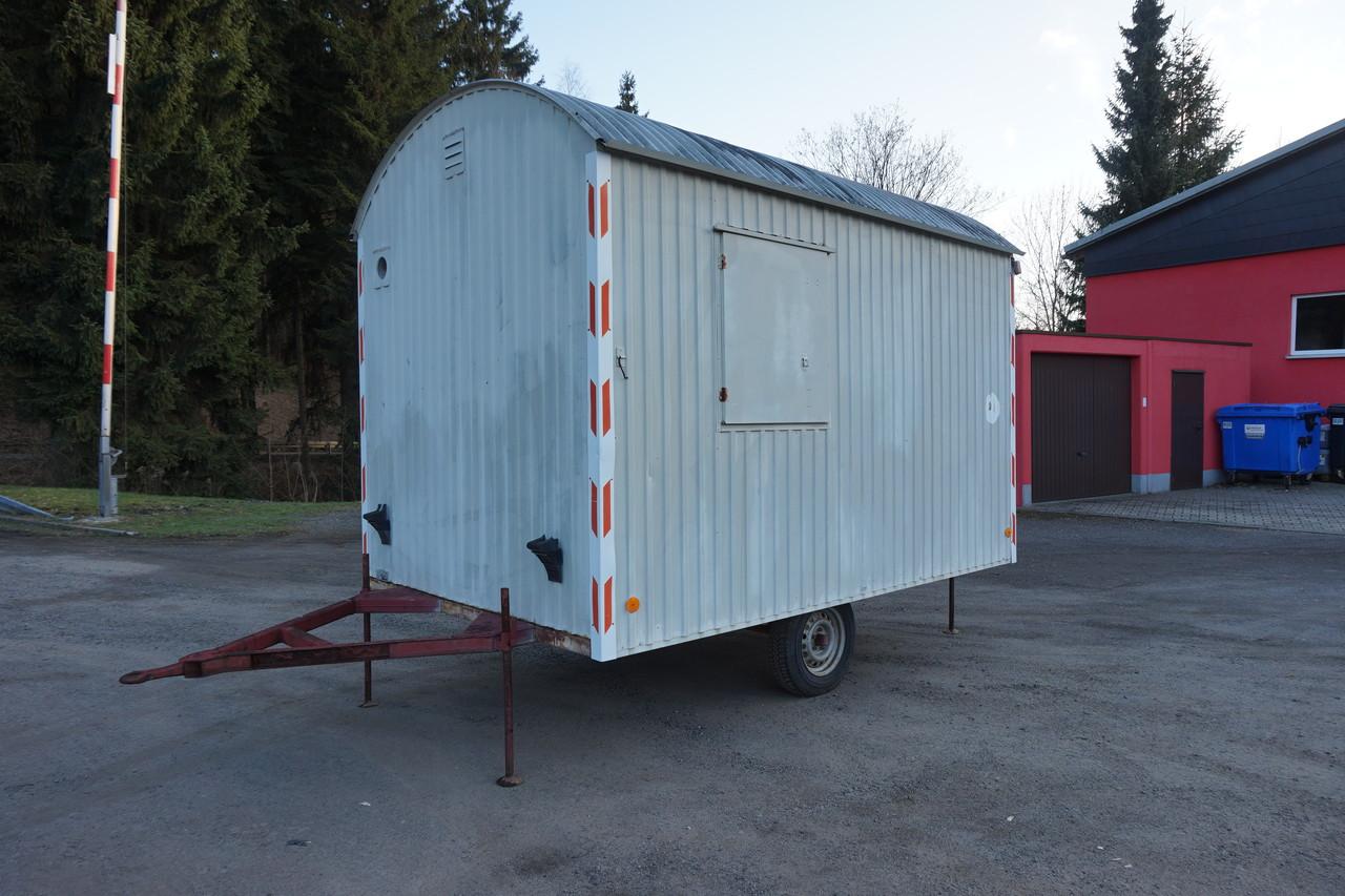 bauwagen container ibr bad rappenau mobiler baustellenwagen anh nger baubude ebay. Black Bedroom Furniture Sets. Home Design Ideas