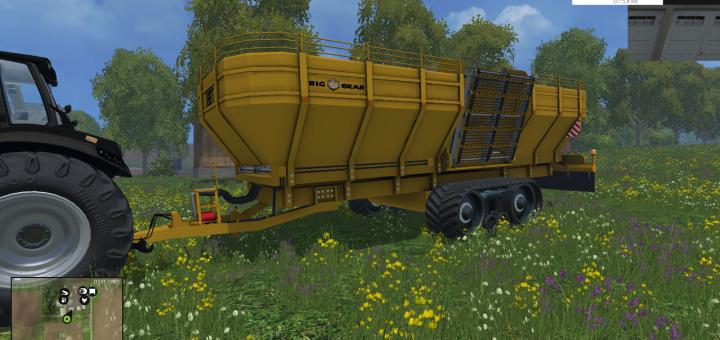 Ropa Big Bear Überladewagen für LS15
