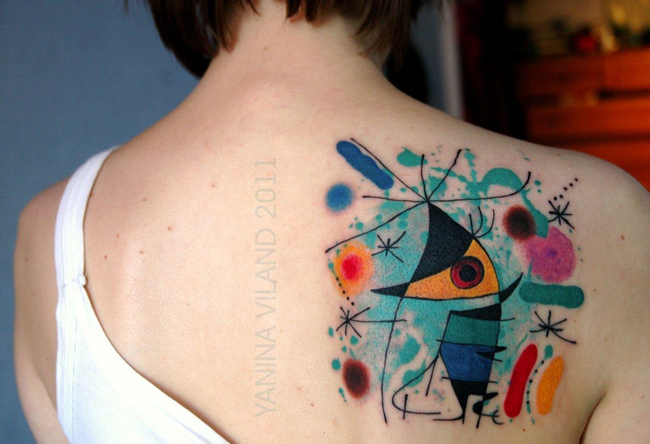 Tatuaże inspirowane sztuką 24