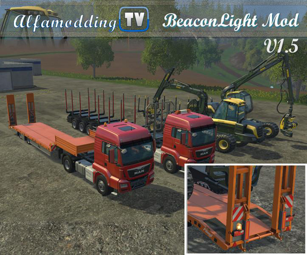Beacon Light Mod v1.5