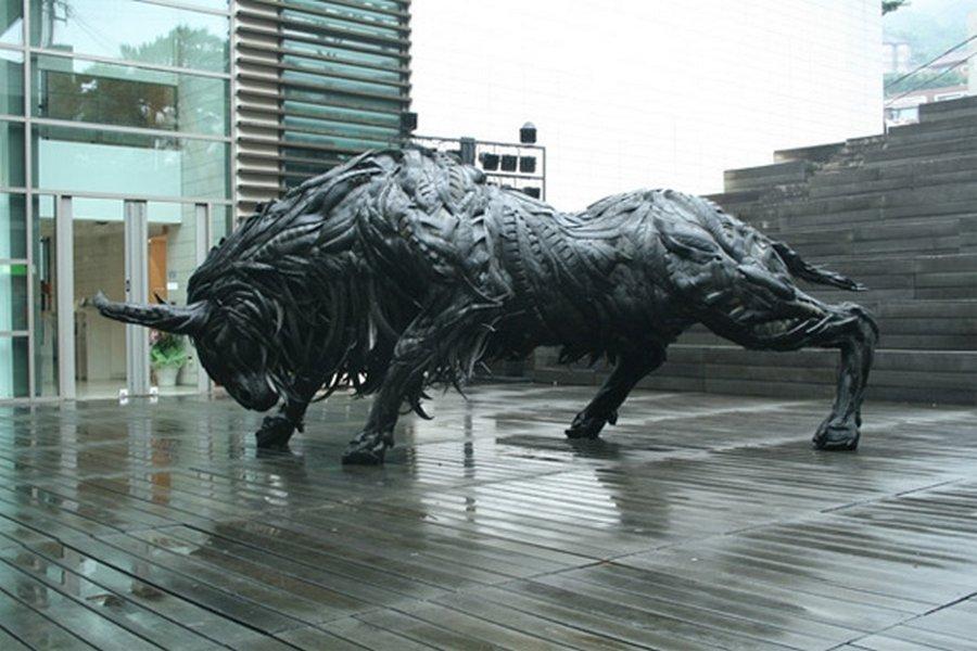 Rzeźby z opon #2 23