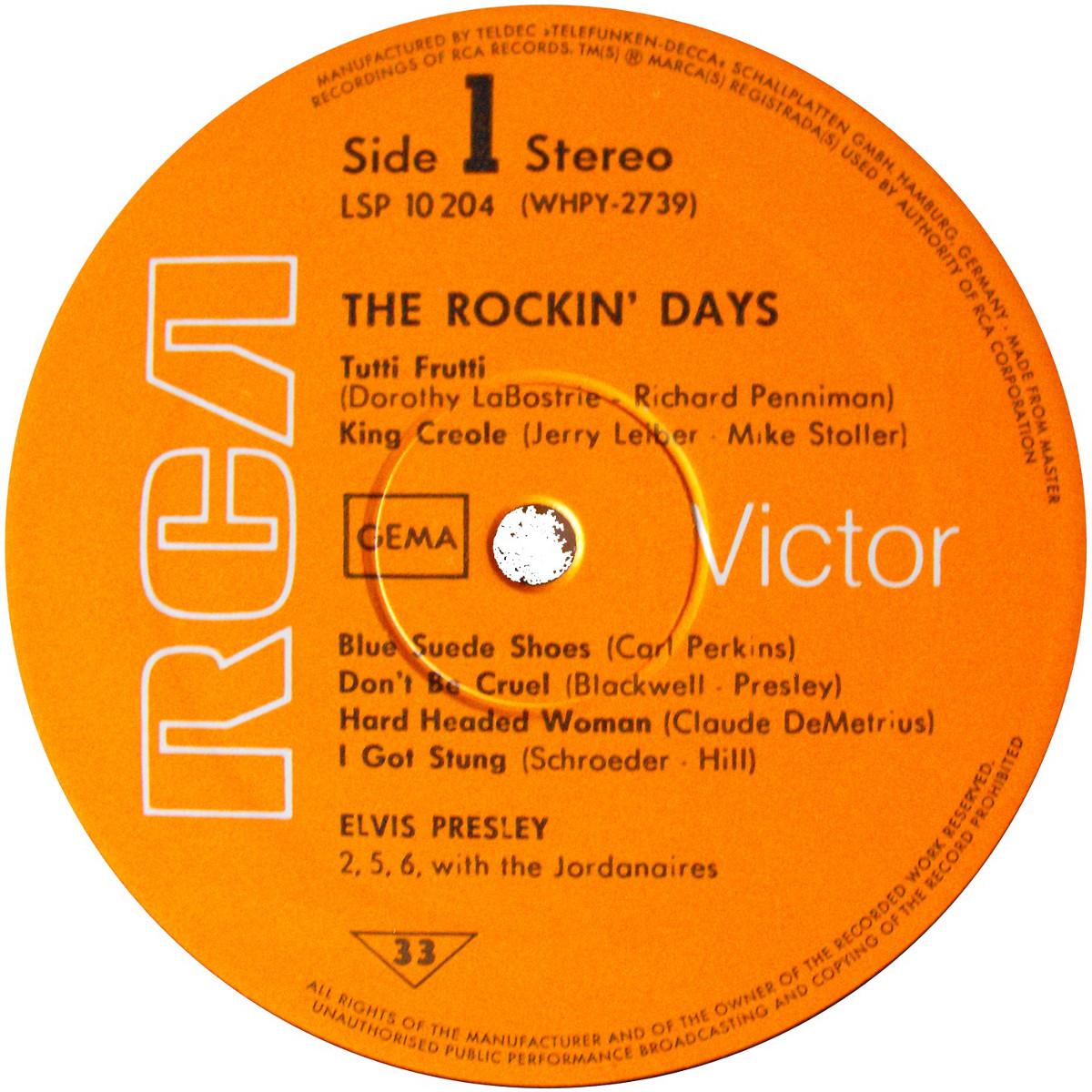 THE ROCKIN' DAYS Beitrag1-602s85