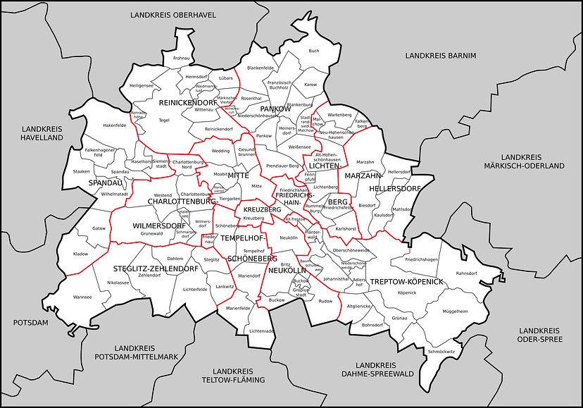 Berlin Auf Einen Blick Berliner Wolkenkratzerforum
