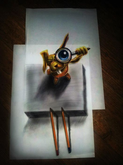 Rysunki 3D #4 15