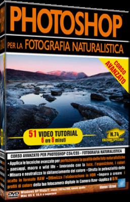 Grafica Digital Foto n.74 Corso Avanzato Photoshop Fotografia Naturalistica - ITA