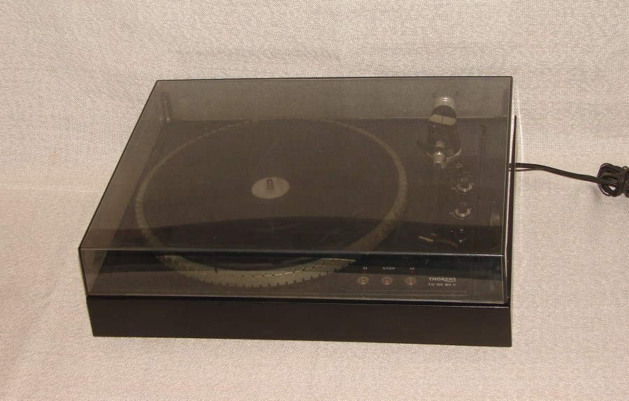 thorens td 155 mk ii turntable ebay. Black Bedroom Furniture Sets. Home Design Ideas