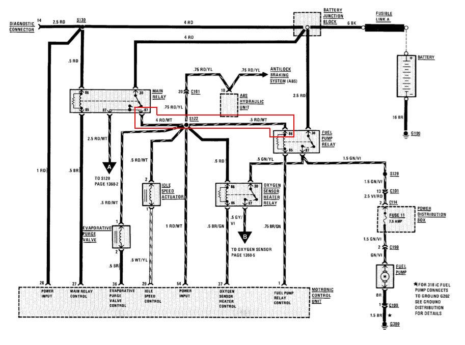 Ausgezeichnet E46 Abs Schaltplan Fotos - Die Besten Elektrischen ...