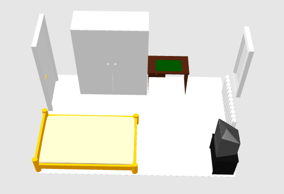 Wie Kleines Zimmer Mit Dachschräge Einrichten? Schlafzimmer ... Schlafzimmer Einrichten 3d