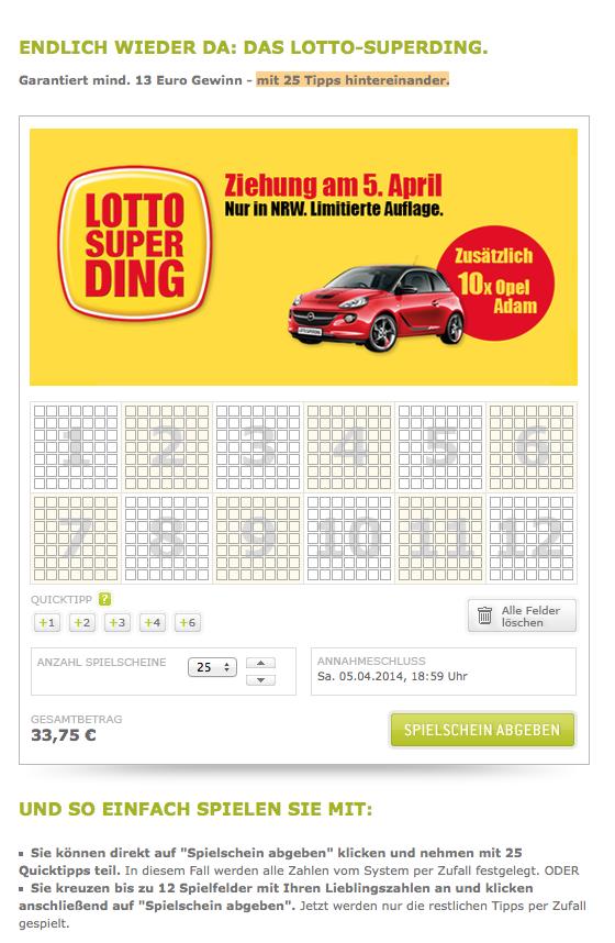 lotto superding sachsen