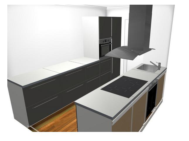 planung einer ikea metod k che mit fremdger ten ikea fans. Black Bedroom Furniture Sets. Home Design Ideas