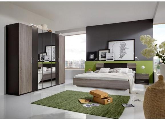 komplett schlafzimmer in eichenfarben für 279€ bei xxxl shop, Schlafzimmer entwurf