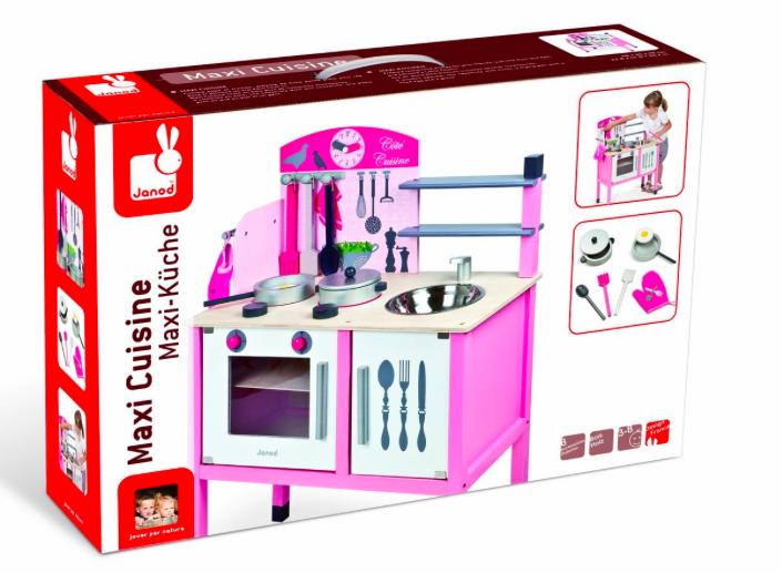 Amazon Prime] Janod J06533 - Maxi Küche (mit Accessoires) für 59,14 ...