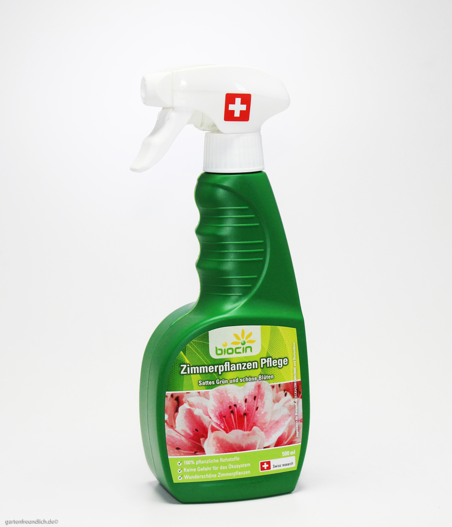 biocin zimmerpflanzen pflege d nger bio pflanzenpflege spray 500 ml 0 5 l ebay. Black Bedroom Furniture Sets. Home Design Ideas
