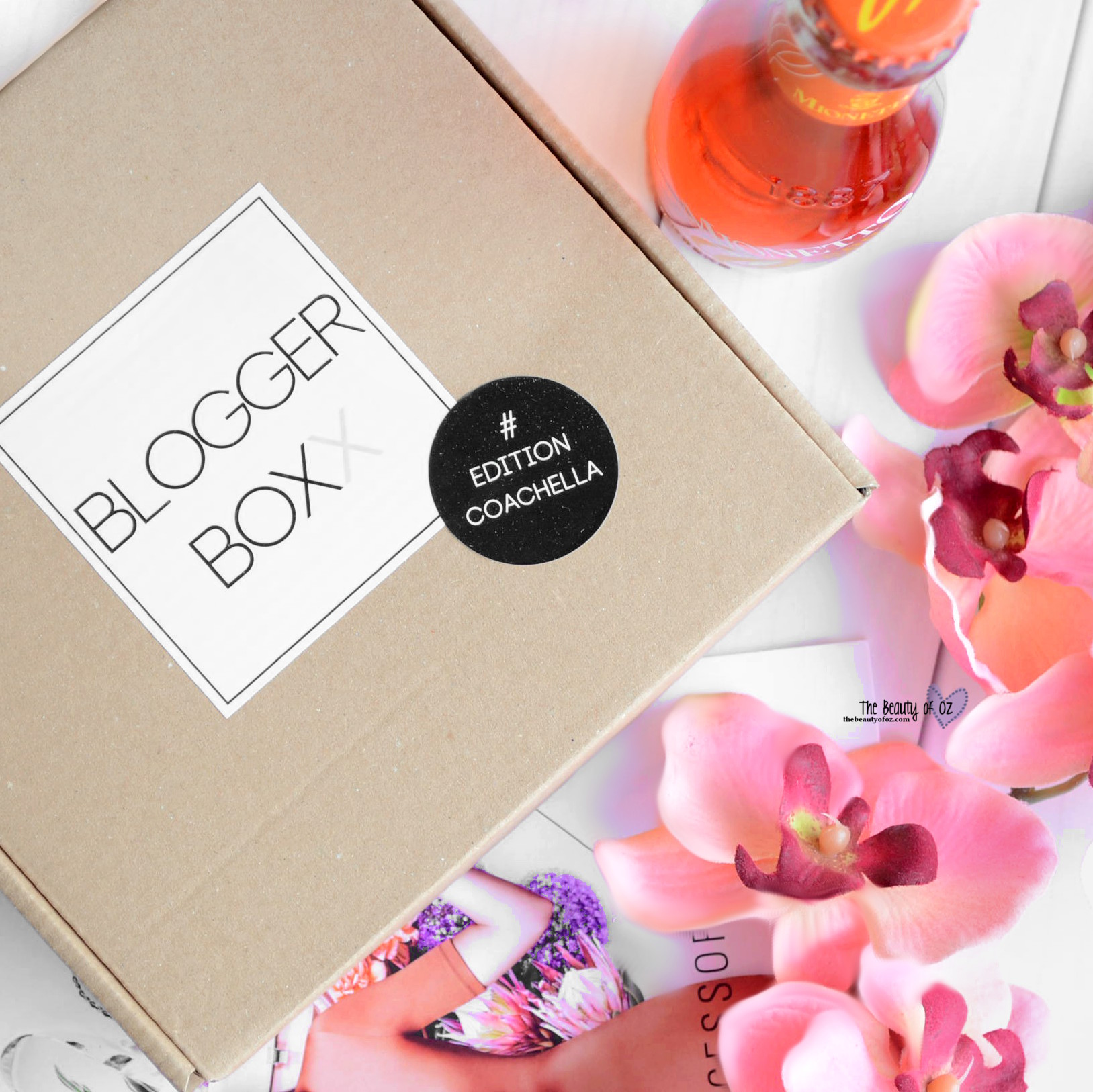 BloggerBoxx #EditionCoachella