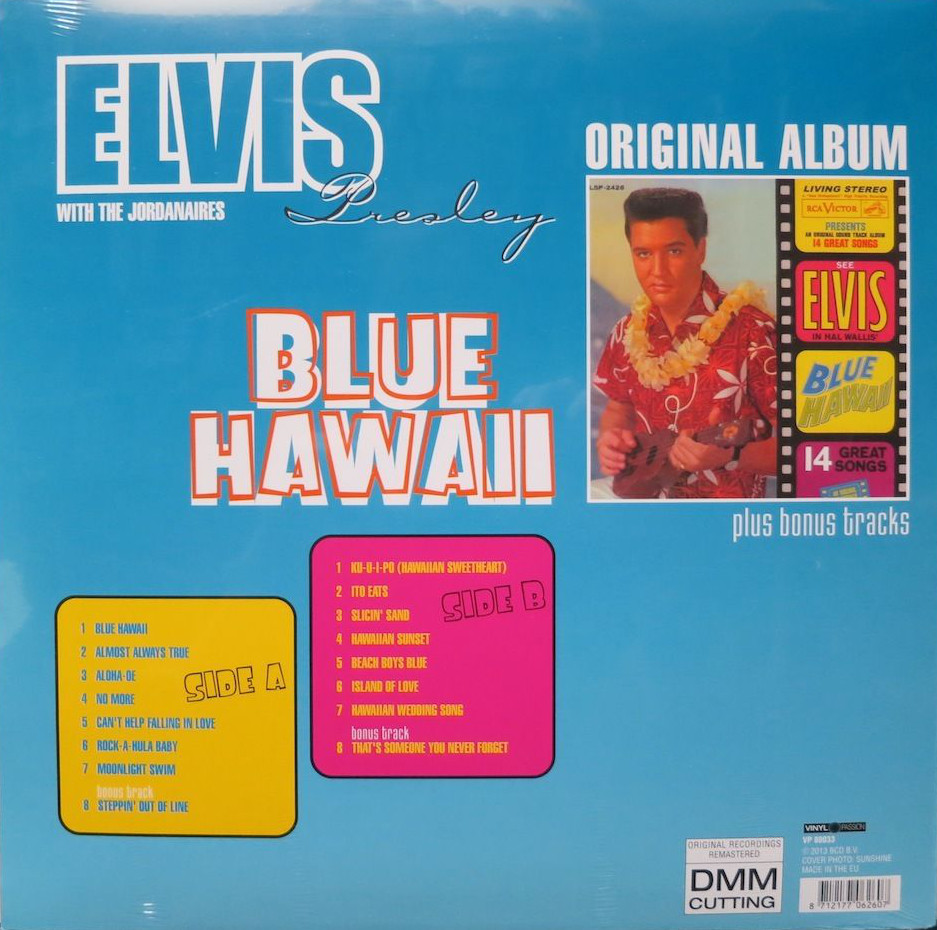 Elvis - Blue Hawaii: Original Album plus Bonus Tracks Bluehawaii2sqjed