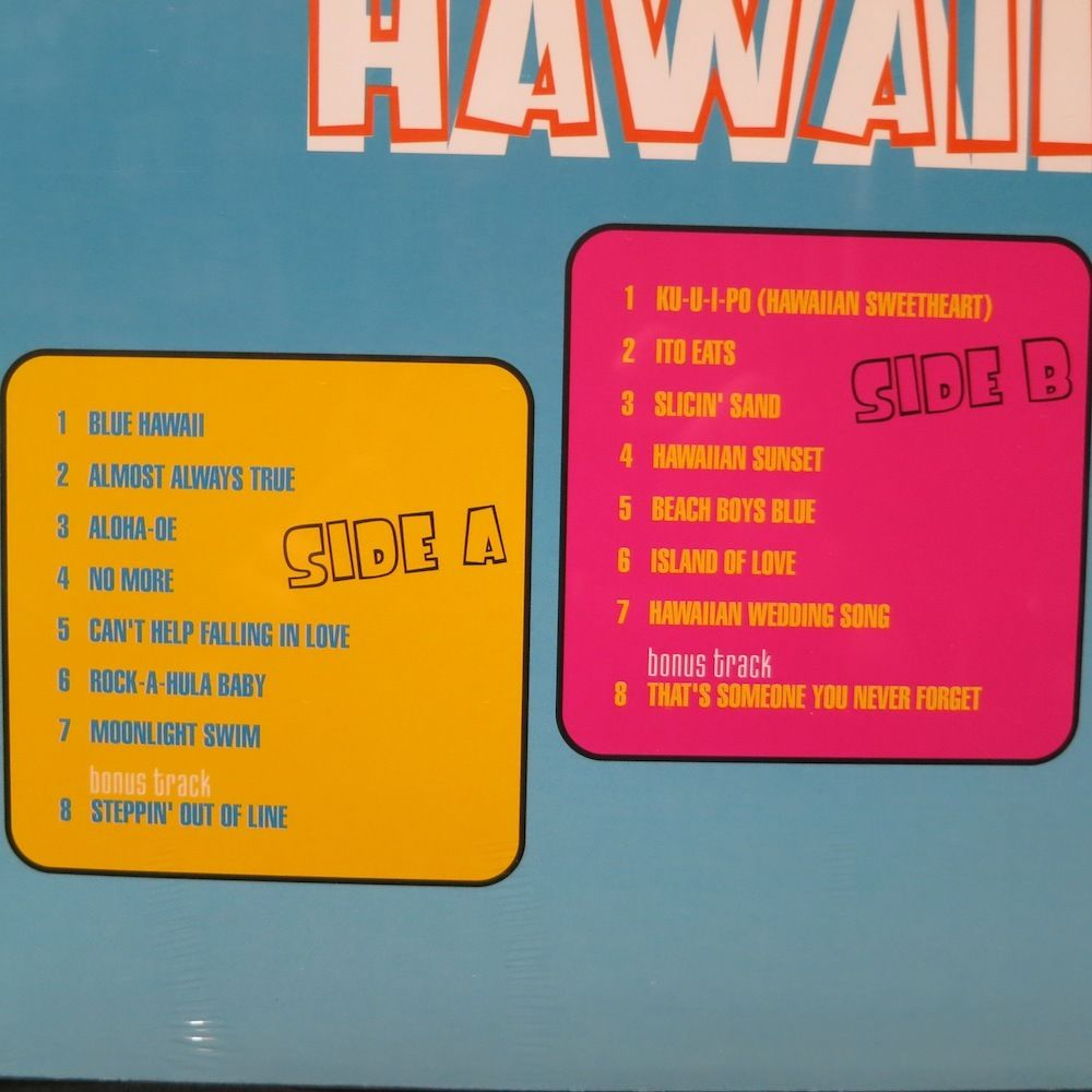Elvis - Blue Hawaii: Original Album plus Bonus Tracks Bluehawaii3xgjhm