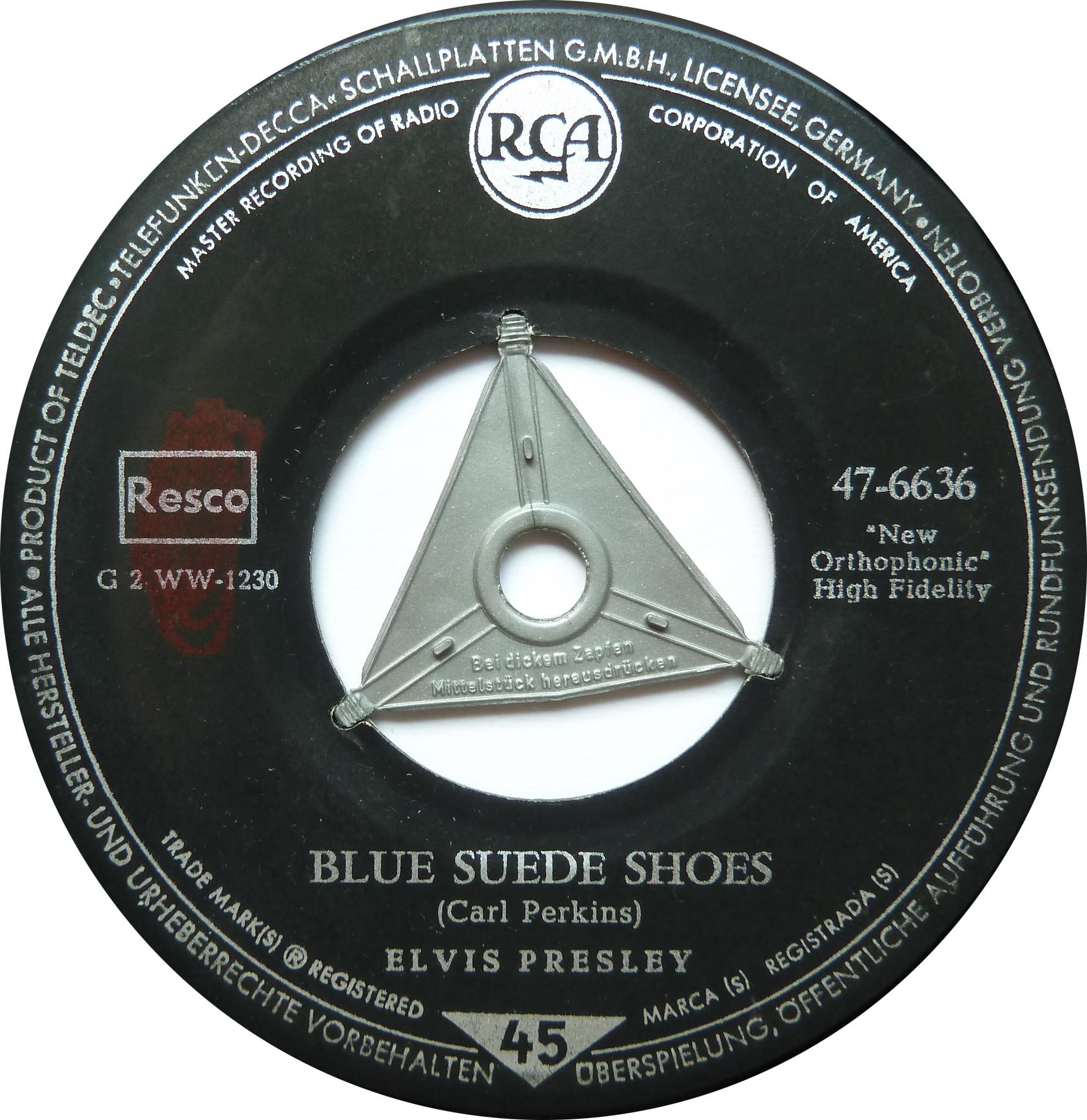 Blue Suede Shoes / Tutti Frutti Bluesuedeshoess5side17uyfn