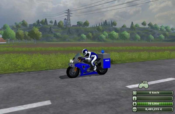BMW police motorcycle v 1.0