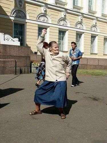 Wesołe jest życie... babci 4