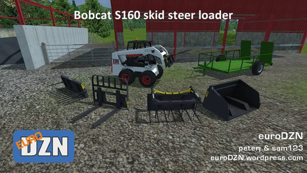 Bobcat S160 Skid Steer Loader v 1