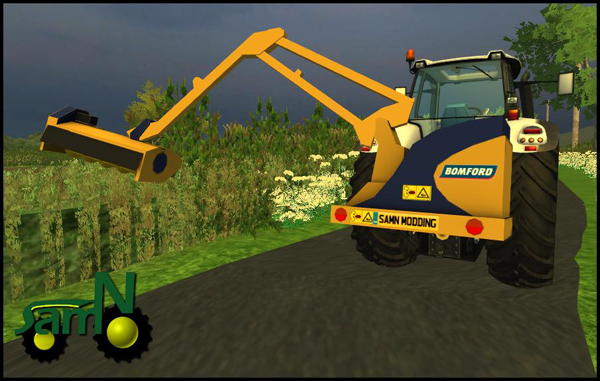 Bomford Hedge trimmer