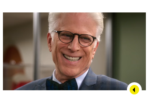 Image result for ted danson good place evil